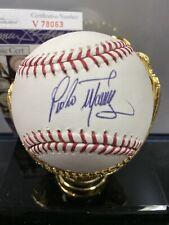 Pedro Martinez AUTOGRAPHED MLB BASEBALL JSA COA