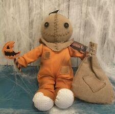 Trick 'r Treat Sam Plush Doll w/ Sack Spirit Retired Sam Movie Collectible New!