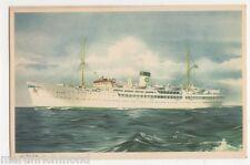 Swedish Lloyd, M.S. Saga Shipping Postcard, B512