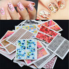 Set 10 pcs Decal Water Transfer Manicure Nail Art Stickers DIY Tips Decoration