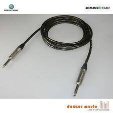 3m Gitarrenkabel SPIRIT XXL Sommer Cable Neutrik X Klinke 6,3 gerade-gerade