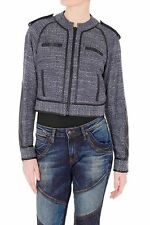 "NWT $500 Sass & Bide ""Oh Yes"" Fitted crop motorcycle style jacket. Size 40/us10"