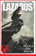 LAZARUS 4 04 T04 Glenat Comics Hardcover BD relié intégrale # NEUF #