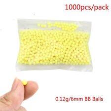 1000PCS 6mm Airsoft Pellets BB Gun Strikeball BBs 0.12g - 6.0 mm Tactical Balls