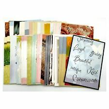 50 Assorted Everyday All Occasion 5 by 7 Greeting Cards with Envelopes