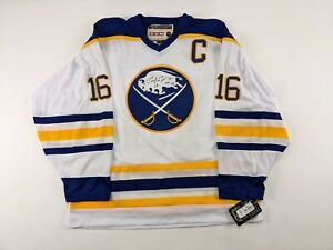 Pat LaFontaine Buffalo Sabres AUTOGRAPHED Replica Hockey Jersey w/ Tag