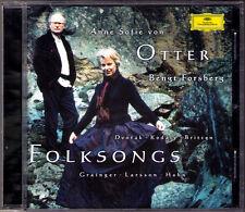 Anne Sofie VON OTTER: FOLKSONGS Dvorak Kodaly Britten Grainger Larsson Hahn CD