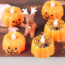 Halloween LED Lights Pumpkin Spider Lamp Festival Party Home Table Decor Gifts