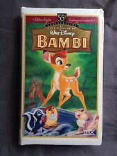 Disney VHS Bambi - French Version Française