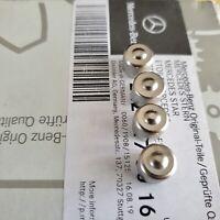 4 BOUCHONS DE VALVES Metal MERCEDES ORIGINAL S SL SLK CL CLA AMG GLA A E C 55 63
