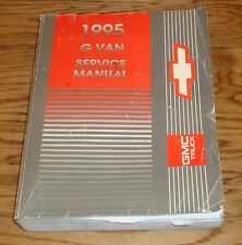 1995 Chevrolet Express GMC Savana G Van Shop Service Manual 95 Chevy