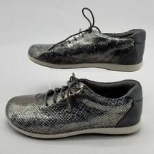 Alegria By PG Lite Womens Essence Posh Shoes Gray Snake Print ESS-759 10