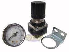 "1/4"" NPT Air Compressor Regulator w/ 0-160 PSI Pressure Gauge & Wall Mount"