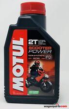 Aceite Moto Mezcla Premix 100% sintético MOTUL Scooter Power 2T, 1 litro