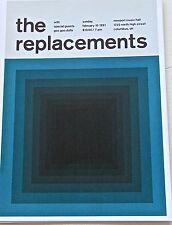 The Replacements Concert Reprint  Columbus 1991 Optical Artwork 13 x10