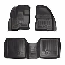 Husky Liners 2009-2018 Ford Flex WeatherBeater Floor Mats All Weather Black