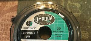 Umpqua 100% Superfluoro Fluorocarbon Tippet 5X 5 pound