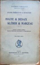 1911, RECIT MILITAIRE REVOLUTION, Hoche & Desaix Kléber & Marceau- 4899