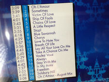 ERASURE party <>Take a chance on me / Voulez Vouz / Solsbury Hill /Lay all your