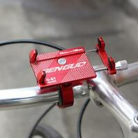 Aluminum Bike Phone Holder Motorcycle Handlebar Mount Smart Phone For iPhone v