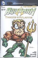 Aquaman #15 W/Original Art by RAK (Robert A Kraus)