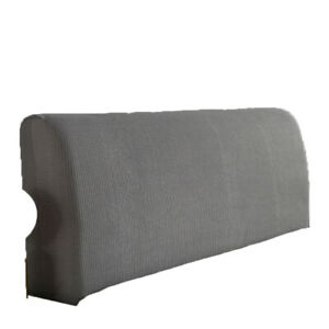 Headboard Slipcover Protector Cover Solid Dustproof Stretch Bed Head Covers