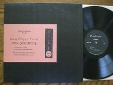 Milan Chamber Orch Newell Jenkins LP Telemann Don Quichotte EX + Washington 403