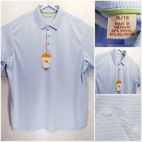 NWT Tommy Bahama Mens XL Polo Shirt Blue