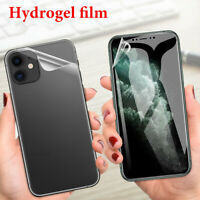 Full Cover Soft Hydrogel Film Screen Protector For iPhone 12/12 Mini/12 Pro Max