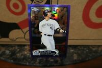 2012 (ROCKIES) Bowman Chrome Purple Refractors #85 Carlos Gonzalez