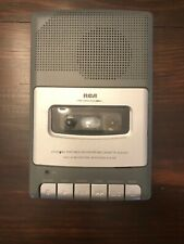 Rca Cassette Player Rp3504-A Tape Recorder Player Tested Brand New Batteries