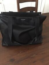Kate Spade Black Diaper Bag/Large Tote With Changing Pad