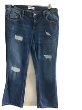 SHEEGO Straight  Legs Denim Jeans Size 18P