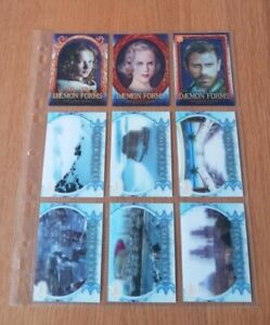 THE GOLDEN COMPASS (HIS DARK MATERIALS) LENTICULAR CHASE CARDS BY INKWORKS 2007