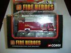 CORGI SHOWCASE FIRE HEROES CS90097 E-ONE CYCLONE RESCUE BOSTON