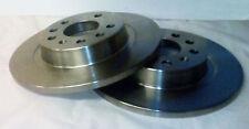 2 x Brake Discs Front Citroen AX Saxo Peugeot 106 Mega Club 86 - 04 3 Stud Wheel