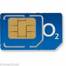 O2 NETWORK NORMAL NANO MICRO PAY AS YOU GO 02 SIM CARD  UNLIMITED CALLS & TEXTS*
