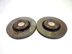 46765546 Pair Front Brake Discs ALFA ROMEO Mito 1.3 62KW 3P D 5M (2014) R