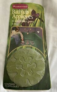 vintage retro bathtub appliques by rubbermaid 1974 new never opened movie prop