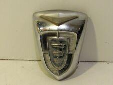 Vintage 1956 Chrysler Windsor Hood Grille emblem Script Emblem Rare Metal