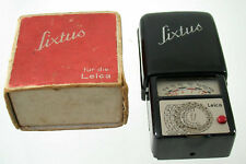 LEICA GOSSEN SIXTUS historice exposuremeter vintage classic Belichtungsmesser/18