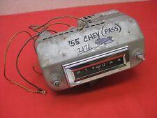 1955 Chevy 210 150 2 & 4 Door Sedan & Delivery AM non-push button radio 2176