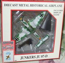 Model Power #5339-2 German Axis Fighter WWII Junkers JU-87-D Diecast 1-110 Scale