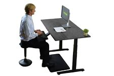 RISE UP best bamboo electric height adjustable standing office desk dual motors