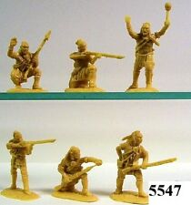 Armies In Plastic 5547 - French & Indian  N/E Indians  Plastic Figures Model Kit