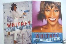 "Whitney Houston ""Greatest Hits"" Australian Promo Poster - Rare & Large Version!"