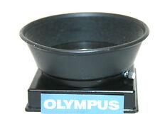 OLYMPUS BRANDED 35-70mm F/4 Rubber Lens Hood.