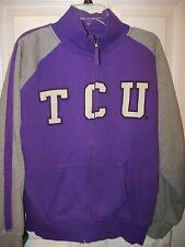 TCU Texas Christian Horned Frogs Full Zip Up Zipper Jacket Mens Size XL NWT