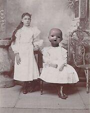 Victorian Doll Art Print 8 x 10 - Altered Art - My Doll Friend - Surreal Horror