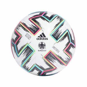 Euro 2020 Uniforia Pro Match Football Ball Fan White Adidas - Mens